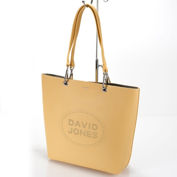 David Jones táska (shopper) 6223-1 sárga