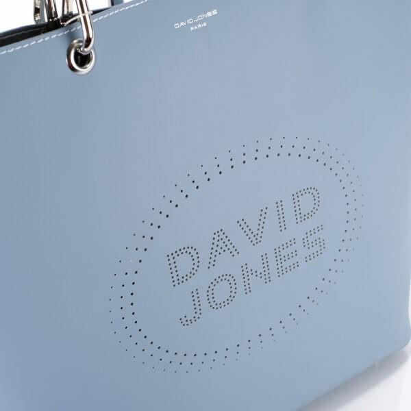 David Jones táska (shopper) 6223-1 kék